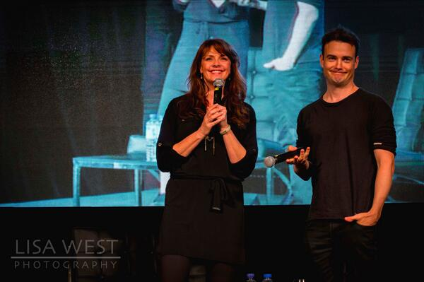 ".@amandatapping - ""Rainbows and Unicorns"" …@RobinDunne - ""Poo and stone testicles"" #OCCAdelaide #LoveableDorks http://t.co/3macwfOfEt"