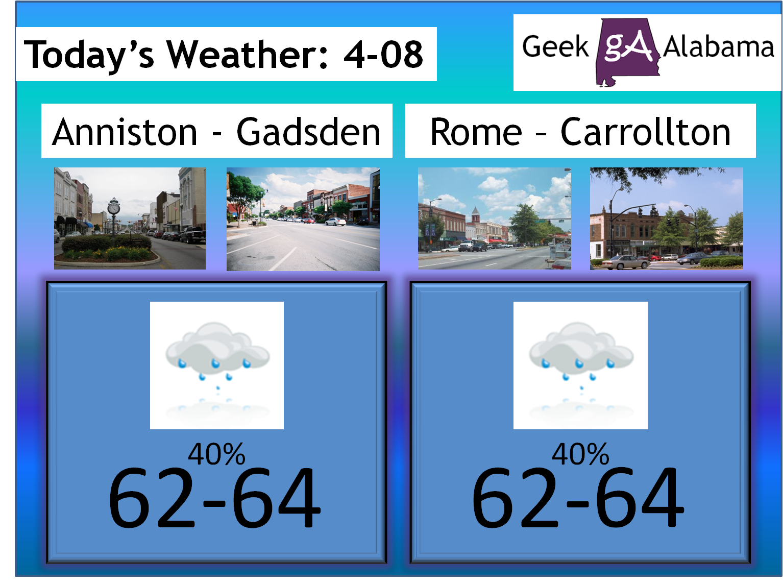 Twitter / nvyoung: NE Alabama / NW Georgia weather ...