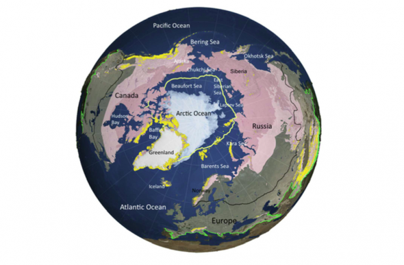 The Arctic is warming faster than any other place on Earth; 1450 year old ice is now melting. http://t.co/gJDu8yfIrz http://t.co/boypH70wL7