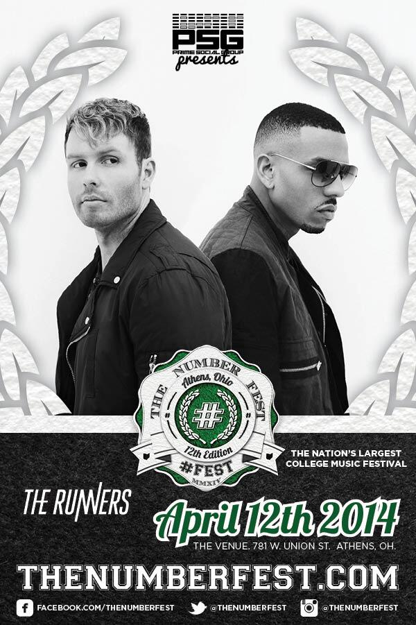 This weekend its going down in Athens, Ohio for #thenumberfest. Who's ready to RUNN with us? @primesocial http://t.co/gfaxUU77YF