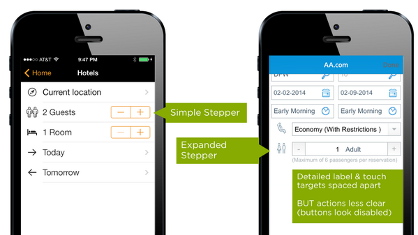 Stepper control customization in mobile forms. http://t.co/Z4k8kXwBom