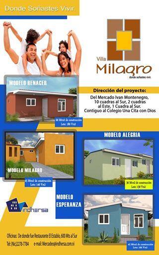 Cadur nicaragua on twitter villa milagro donde for Villa milagros