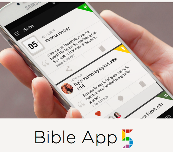 Bible App 5 is now available! Download now: http://t.co/qh6JtltGXY  Find your friends & engage in the Bible together. http://t.co/84Gyszbohj