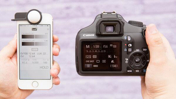 Turn your iPhone 5 / 5s into a light meter for a mere $30 with a Luxi from @Photojojo http://t.co/8Uppq6gCF9 http://t.co/vmNXEitNf1