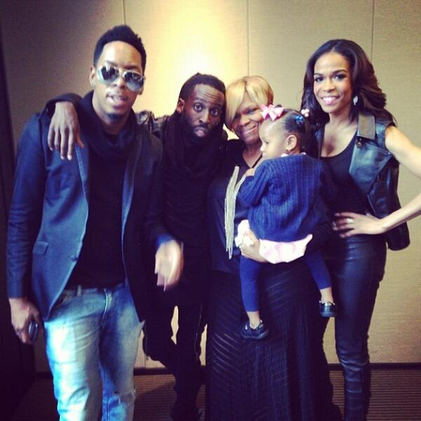 @DeitrickHaddon, @TyeTribbett, @RealMichelleW, Destin & I this morning at announcement of our new show, FIX MY CHOIR. http://t.co/Q0kyF0V1pD