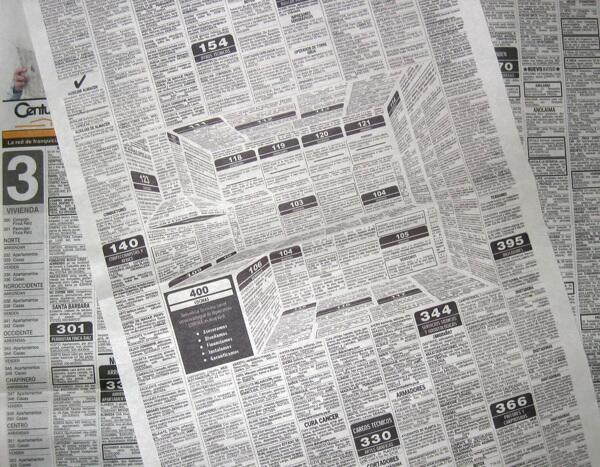 Crazy 3-D newspaper ad hides a whole kitchen inside a classifieds page. http://t.co/Jh6j8igo8O http://t.co/Ih3G4JVyYs
