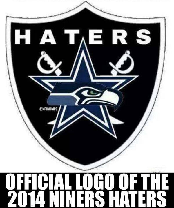 Nfl Memes On Twitter The 2014 Niners Haters Cowboys Seahawks