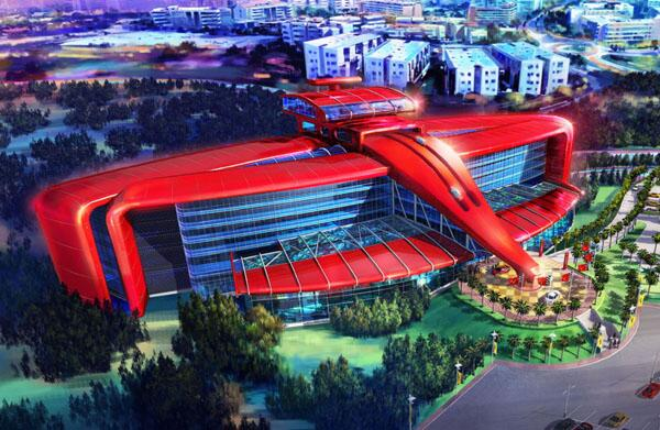 A look at the Ferrari Hotel. Yeah, as in the car.  http://t.co/f9dby6AK6i http://t.co/XYRSycukAn