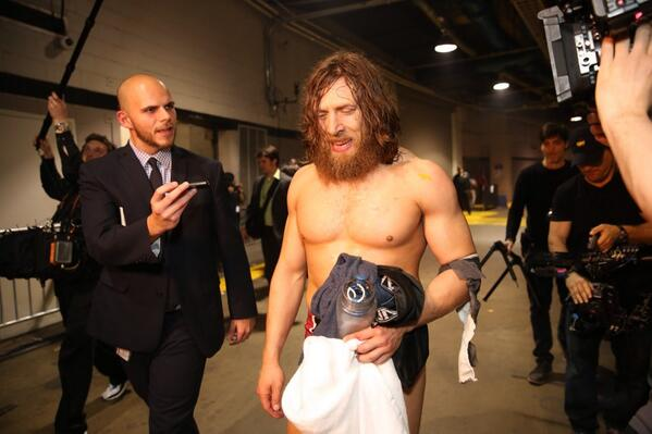 Me, bugging @WWEDanielBryan for a quote after #WrestleMania. What he said: http://t.co/xRmUZmpRGj #WWE @nicoleandbri http://t.co/aOtvkkUmo2