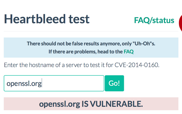 The irony is PAINFUL #Heartbleed #openssl http://t.co/cyK5qilgFx
