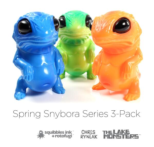 Now taking pre-orders for the Spring Snybora Series 3-Pack by @ChrisRyniak ... http://t.co/K3NWnjlj4h  @squibblesink http://t.co/8x3Xeb3ztl