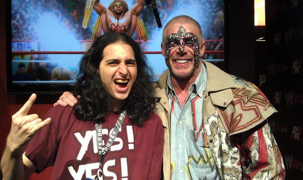 Pleased that I got to meet #ultimatewarrior at PAX. Pleased that we got to celebrate his career this week, too. Damn. http://t.co/OwnmJEYjU5