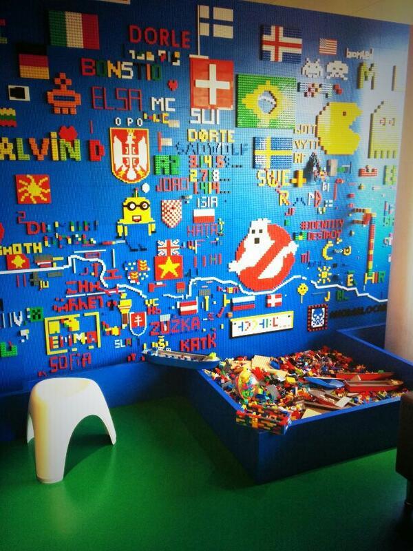 Francesc on Twitter Lego microkitchen at the Google Zurich