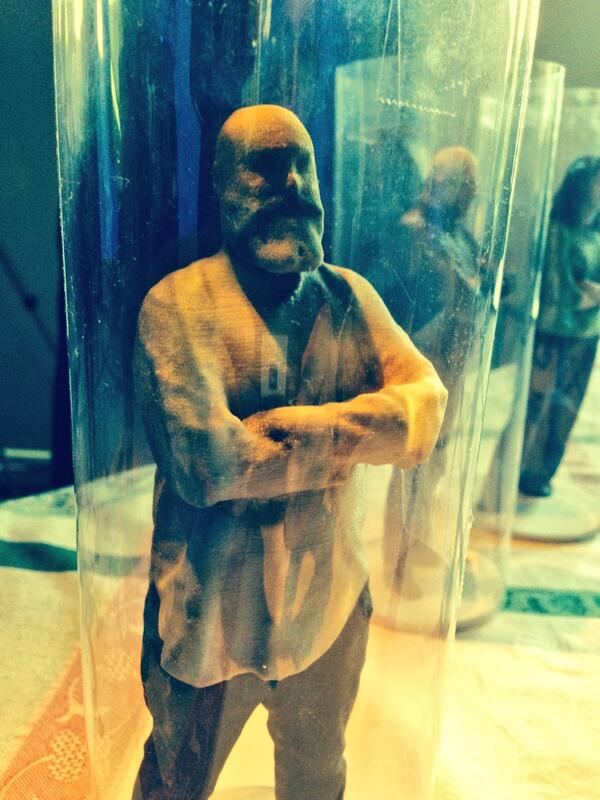 3D model of our own Nick Vale @MaxusGlobal #leanintochange #3d #hfarm #maxusglobal http://t.co/ssA3xBSWx2