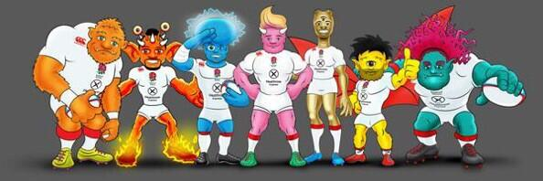 Guess which monster I am? @EnglandRugby @IRBSevens http://t.co/vYkiGZO61E