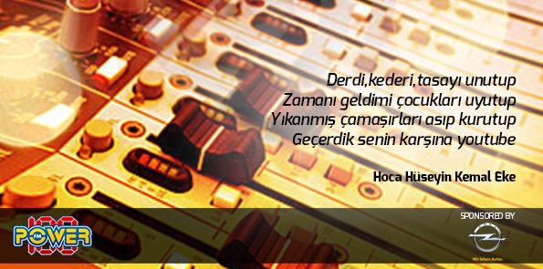 """Hoca'nın bu sabah """"Youtube""""la ilgili okuduğu şiiri tekrar paylaşıyoruz. Beğnenler FAV, Çook beğenenler RT Lütfen :)) http://t.co/fjbka6Rbjz"""
