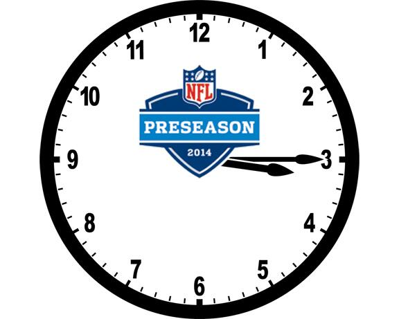 2014 Preseason Schedule will be announced today at 3:15 PM ET. http://t.co/e2ndWBjECp