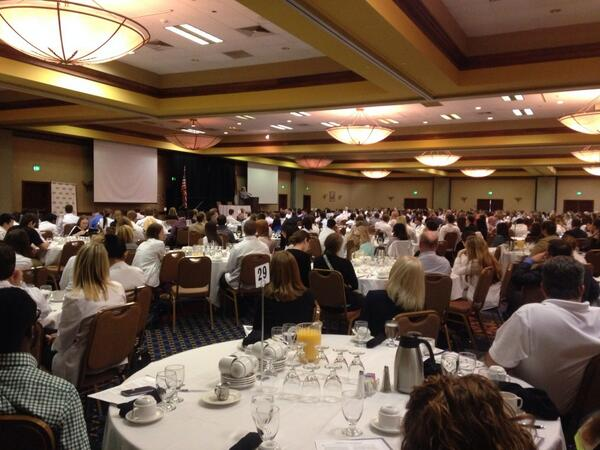 Look at all those white coats!!! @STLCOPedu @TheMPA #legday2014 http://t.co/He7qyrje06