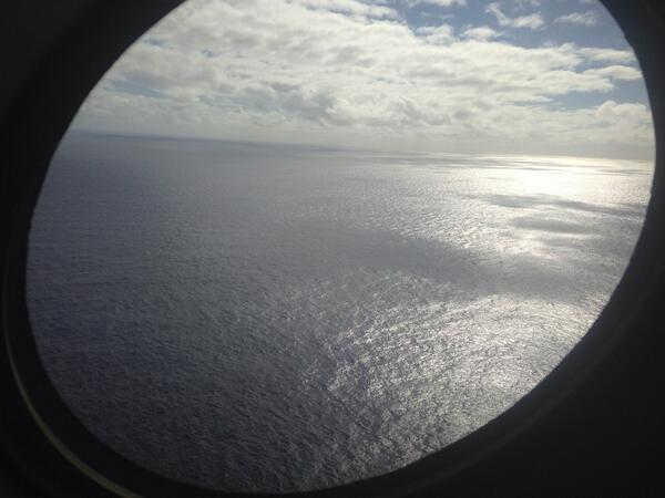 Just back from search flight for #MH370. We didn't find it. http://t.co/6vE7MfWGPz