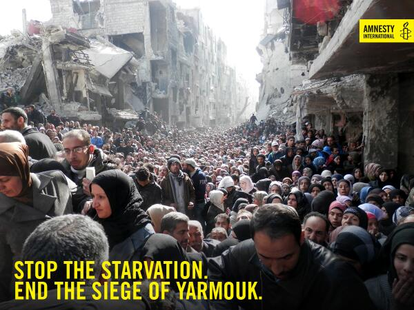 Syrian starvation photo