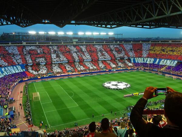Bayern Munich & Atletico Madrid fans put on amazing displays before their CL matches [Pictures]