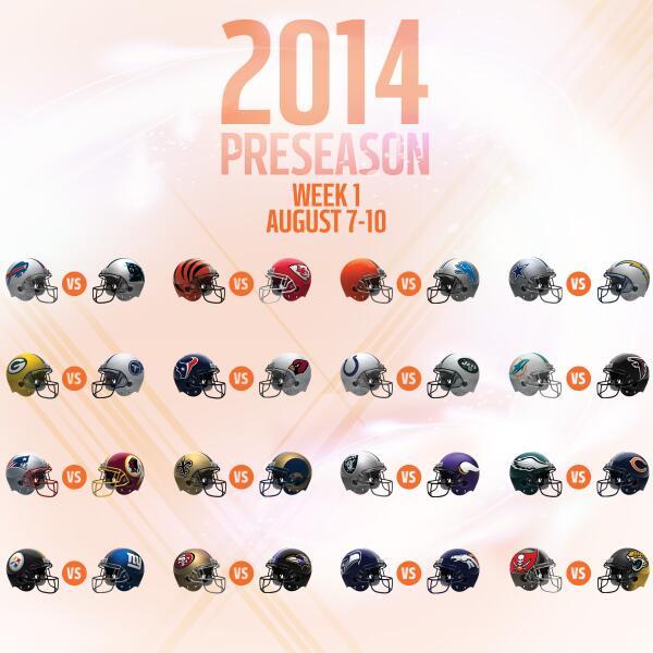 2014 Preseason Schedule Announced http://t.co/3UGqmja0JA http://t.co/VBhoP3MRbd