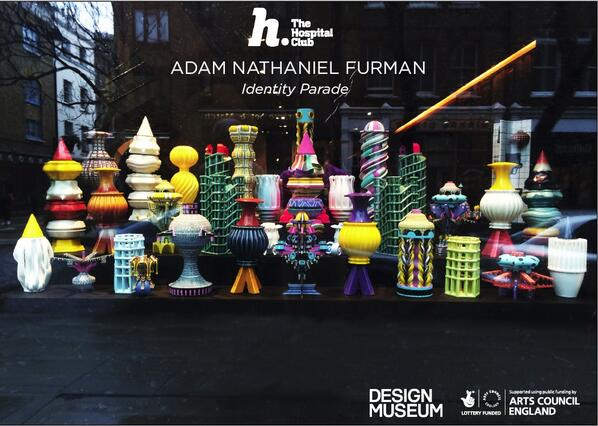 Well we're LOVING the new installation by @furmadamadam in our front window... come and check it out! @DesignMuseum http://t.co/yIgZaevZdb