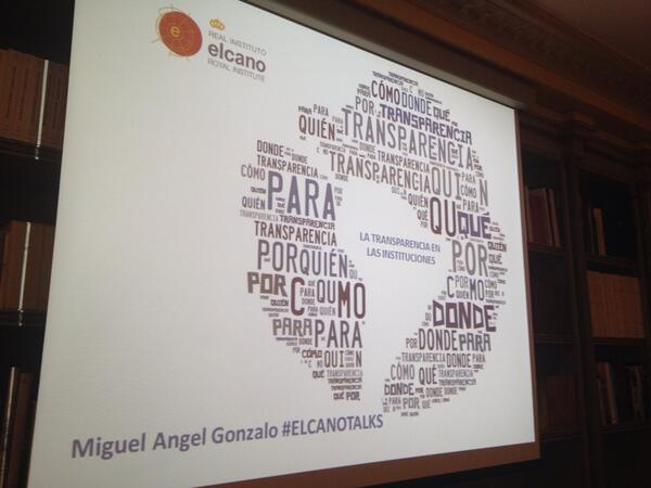 @miguelgonzalo, Webmaster del Congreso habla en #Elcanotalks sobre #transparencia http://t.co/17LRBmE2Nc