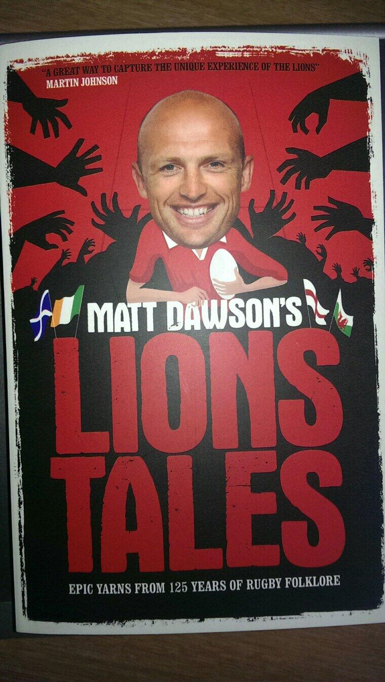 RT @alexspinkmirror: Out today in paperback and ebook. @matt9dawson #Lions http://t.co/Hgar7Qc6Uh