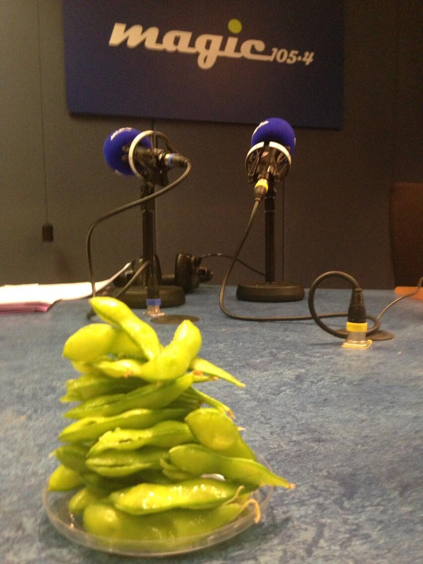 Compiling my playlist for Saturdays show @magicfm. Amusing myself with a game of Edamame Jenga http://t.co/0ITZMI9Tj3