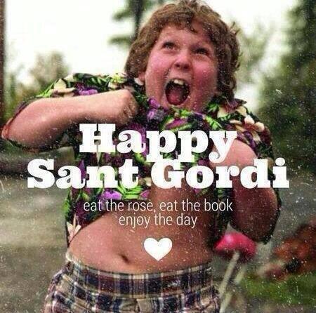 Me he enamorado mucho de esta imagen. Digo sí a celebrar Sant #Gordi. http://t.co/vOmoPAaSNF