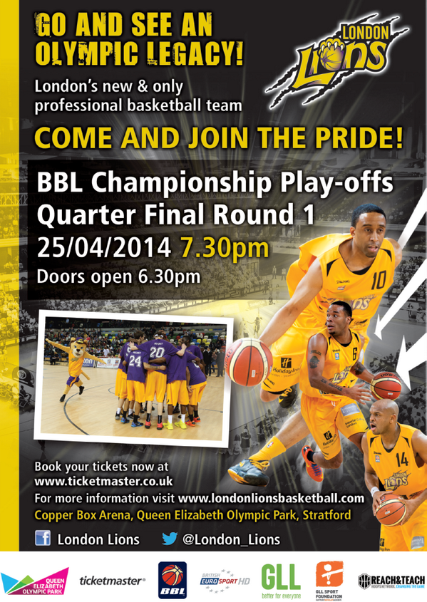 Win two tickets by helping us fill the Copper Box tomorrow! Just retweet and get your friends to! #LetsGoLions! http://t.co/lST94ADGWY