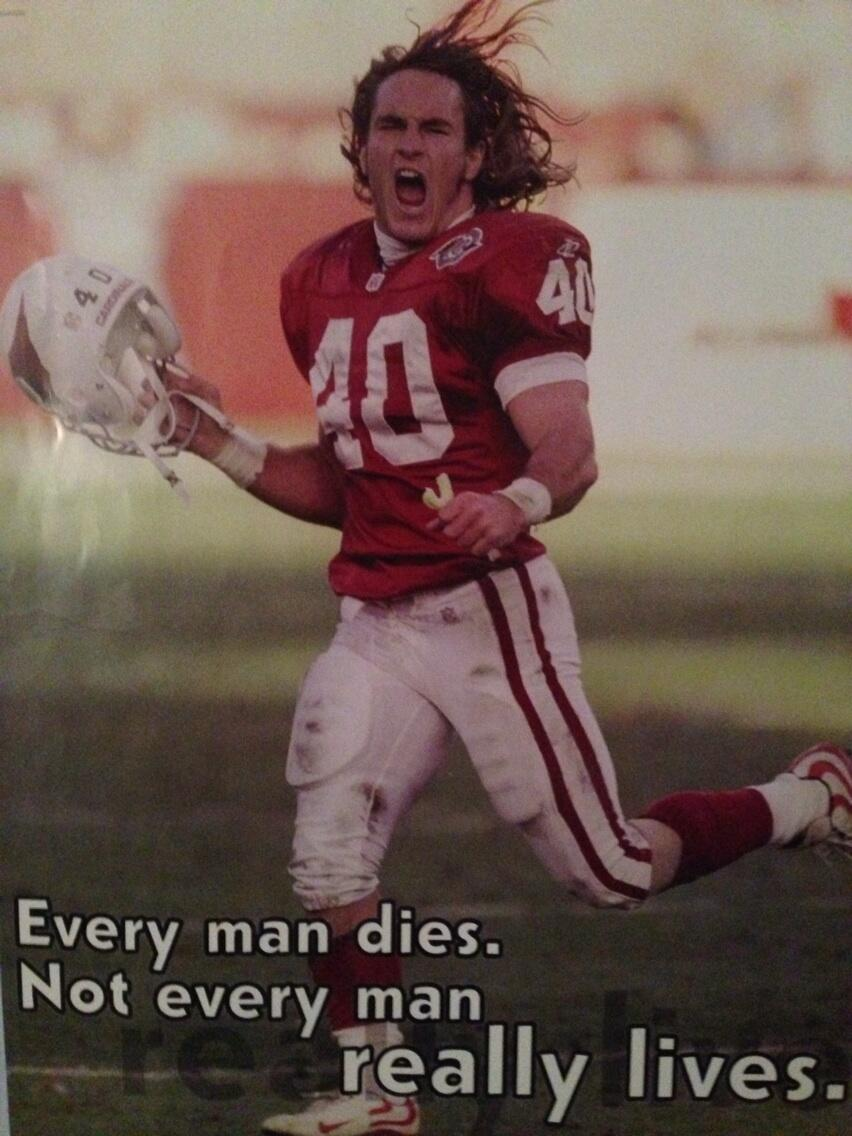 "Peter Schrager on Twitter: ""Pat Tillman: ""Every man dies ..."