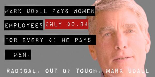 Democrat Mark Udall takes Tom Steyer money who opposes Keystone Pipeline