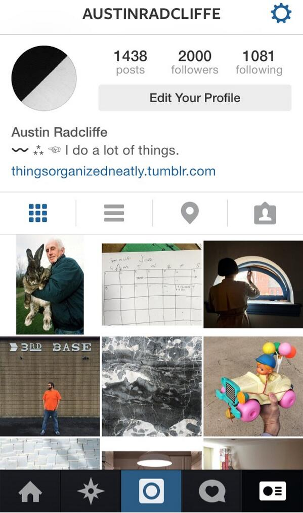 #NBD but follow me on @Instagram. Everyone's doing it. http://t.co/dE6IdID8fH