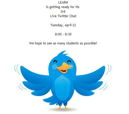 #lqchat are you ready fore tonight? The whole LEARN is! http://t.co/ab01sijMPh