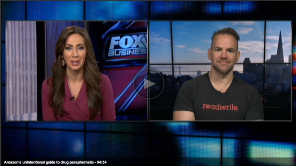 Big data gone breaking bad on @amazon - @owenthomas of @RWW breaks it down @FoxBusiness http://t.co/PT2cPgkKHn http://t.co/ZHewT3yP0a