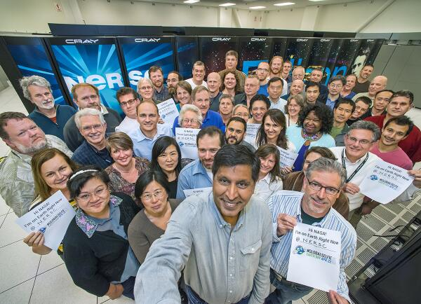 Happy #EarthDay2014 @NASA! A #GlobalSelfie from @ENERGY's @NERSC in @BerkeleyLab's #Oakland facility | @oaklandlocal http://t.co/yp4kJxHAWQ