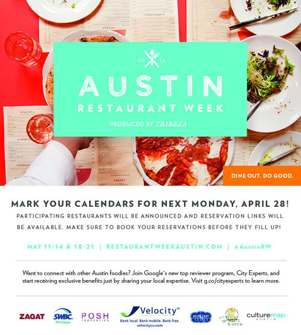 Enter to win a gift card to one of our awesome ARW restaurants by retweeting this photo and tagging #AustinRW! http://t.co/btgvvxqrZ8