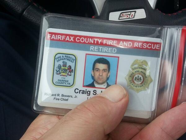 It's over. I retired from Fairfax County Fire & Rescue @ffxfirerescue today. Strangest feeling ever. http://t.co/iqZUNhC5ax