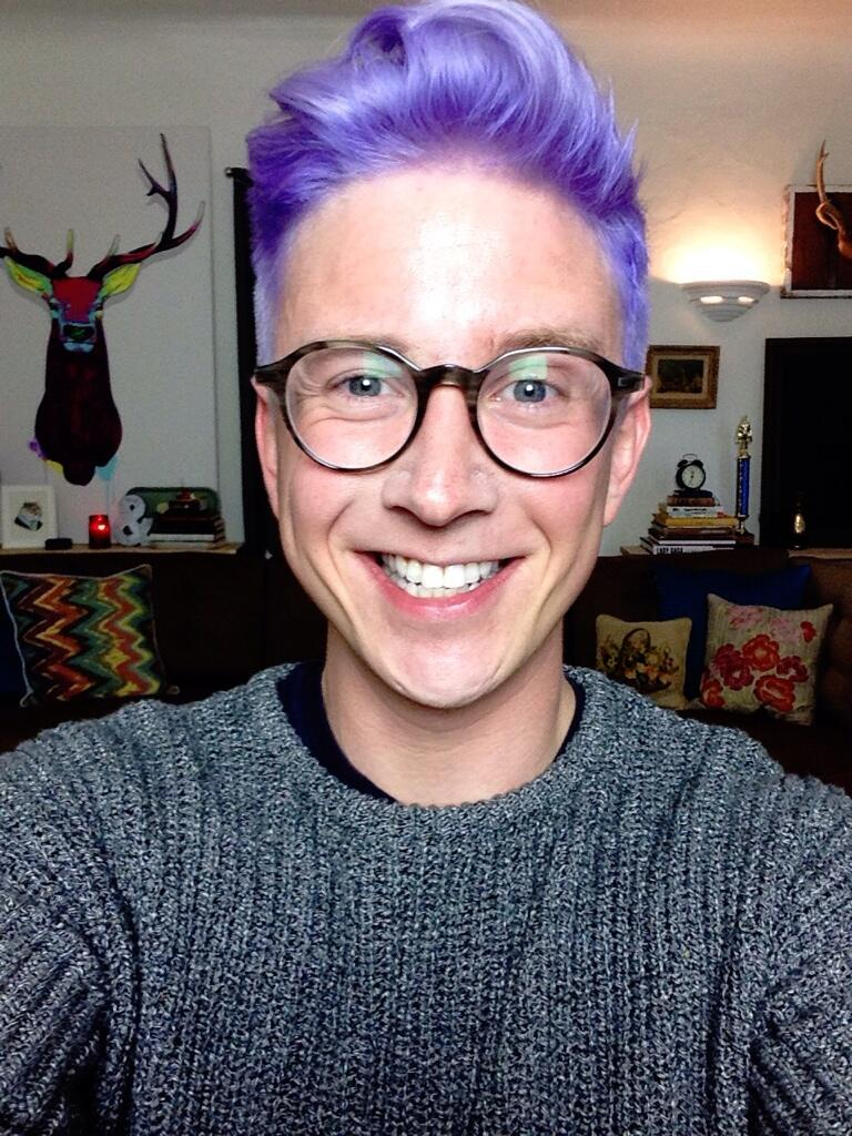 "tyler oakley on Twitter: ""I never really smile with my ..."