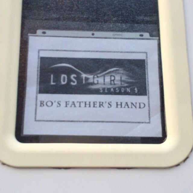 Bo's Father's Hand's trailer