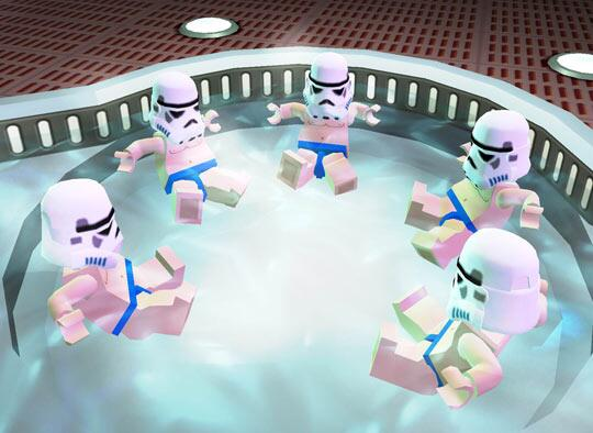Baños Turcos Tio Flor:LEGO Star Wars Beach Trooper