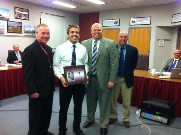 Pottsgrove wrestler Nico DiMitrio is recognized for an outstanding season. http://t.co/RN0LIu4F1l