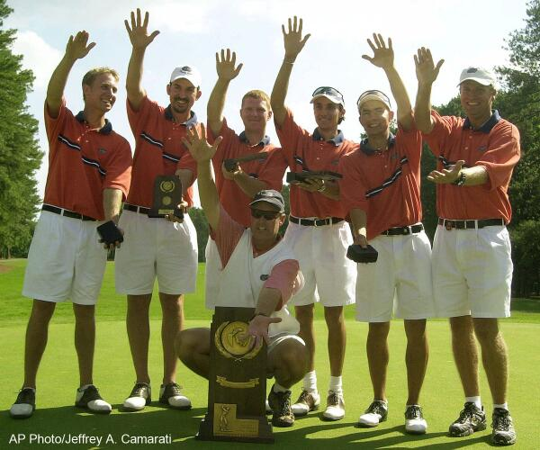 Florida golf coach Buddy Alexander to retire after 27 seasons, 2 national titles: http://t.co/TgWcSPuAaL #ThanksCoach http://t.co/HRPWMibk07