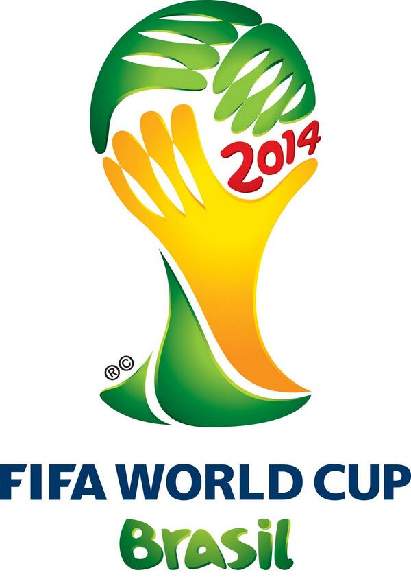 """CANNOT UNSEE: the Brazil 2014 logo has been criticised for """"looking like a facepalm"""" http://t.co/9BjXegCyew"""