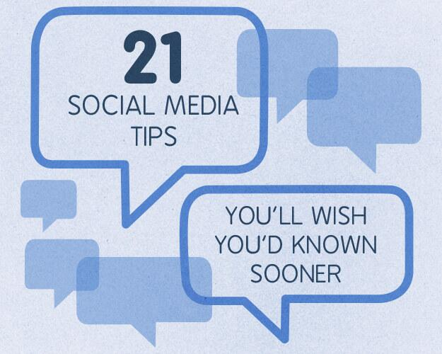 21 Social Media Tips You'll Wish You'd Known Sooner http://t.co/EWnQn4GHMG - even a couple we didn't know *gasp*! http://t.co/Bd12t8Cmhg