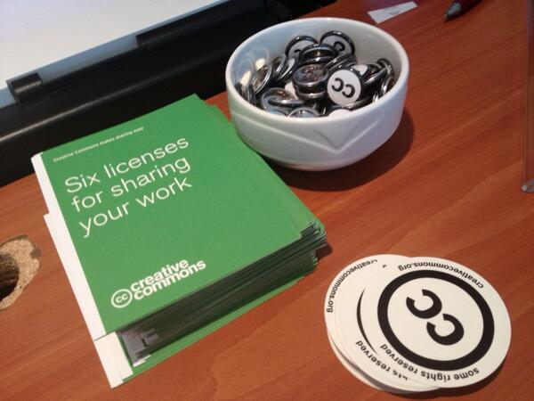 Creative Commons at #ocwcglobal http://t.co/gKcurp5jwE