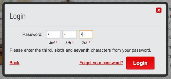 WTF - this is the craziest password scheme I've ever seen. Makes it tricky to use with a password manager too :( http://t.co/oRoWVUMXrj