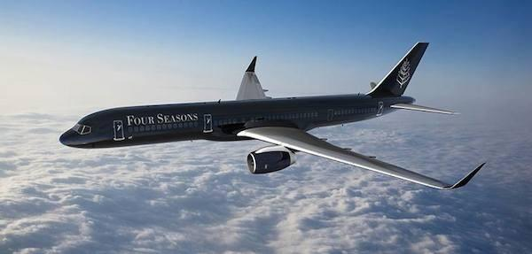 The Four Seasons now has its own branded 757 private jet. http://t.co/9SSV6ew9mb http://t.co/AVXHUCVzEO